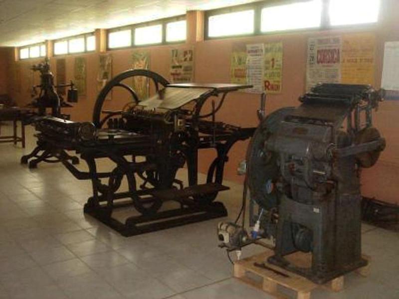 """Noceto, Museo Tipografico """"F. Libassi"""""""