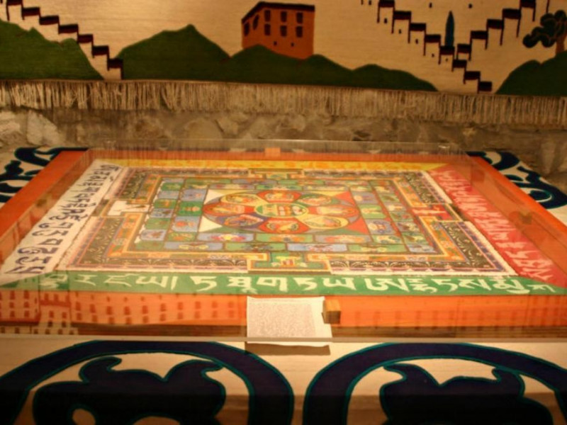 "Canossa, Museo ""La Casa del Tibet"""