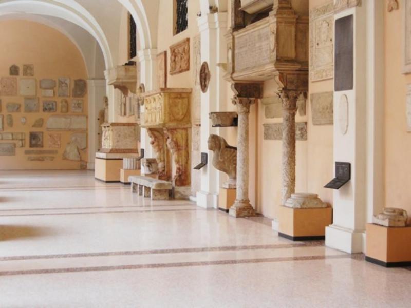 01 Museo Lapidario Estense, braccio orientale