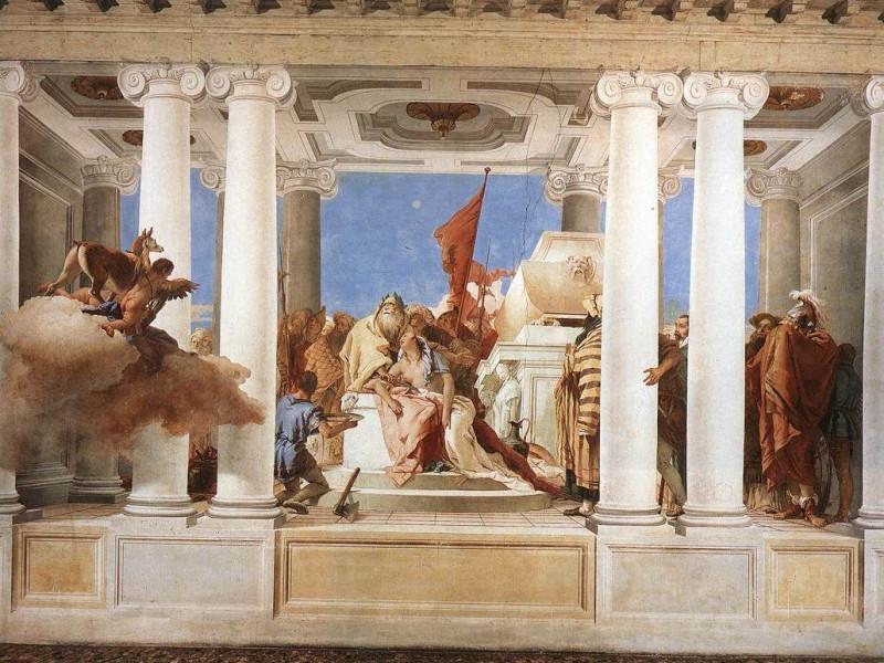 Sacrificio d'Ifigenia, Gianbattista Tiepolo (1757)