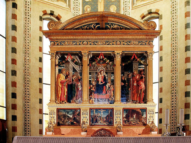 Andrea Mantegna, Pala di San Zeno