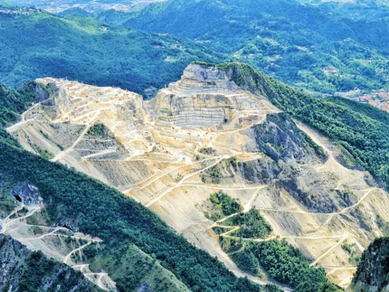 Cava principale di marmo di Carrara