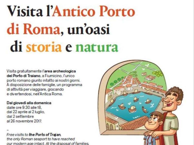 Navigare il territorio al Porto di Traiano