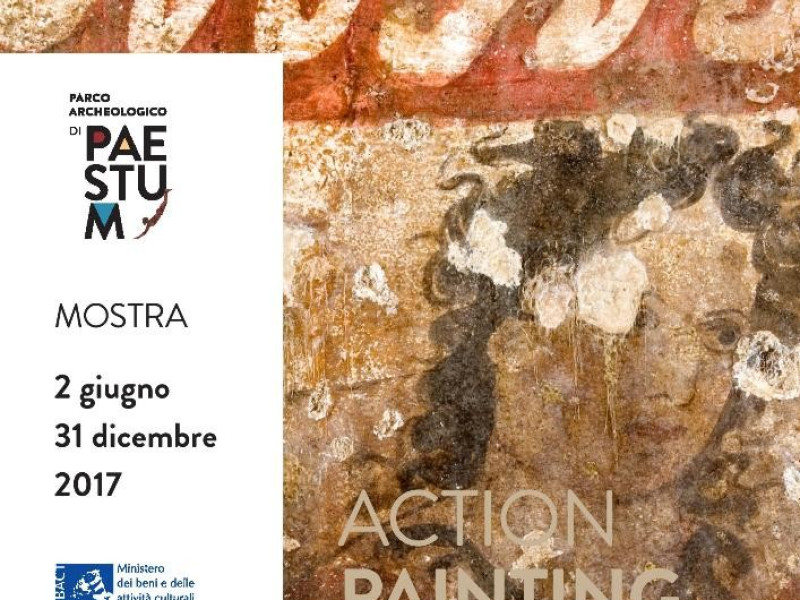 Mostra - action painting rito & arte nelle tombe dipinte di Paestum