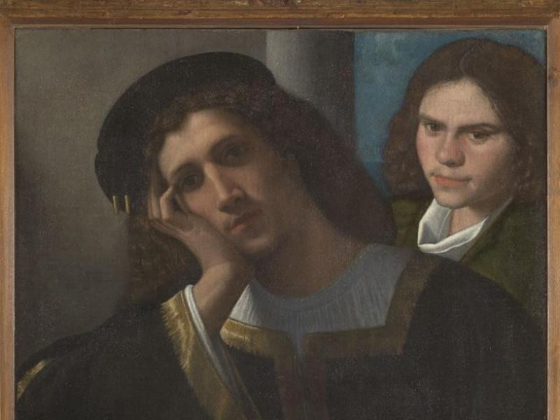 Giorgio da Castelfranco detto Giorgione, Due amici, 1502 c.