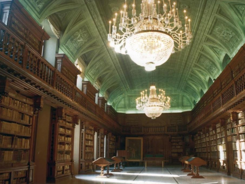 Biblioteca Nazionale Braidense - Sala Maria Teresa