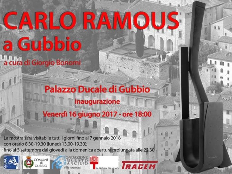 Carlo Ramous a Gubbio