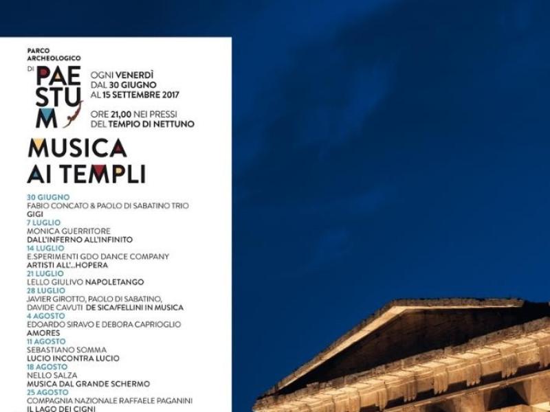 Musica ai templi - programma dettagliato