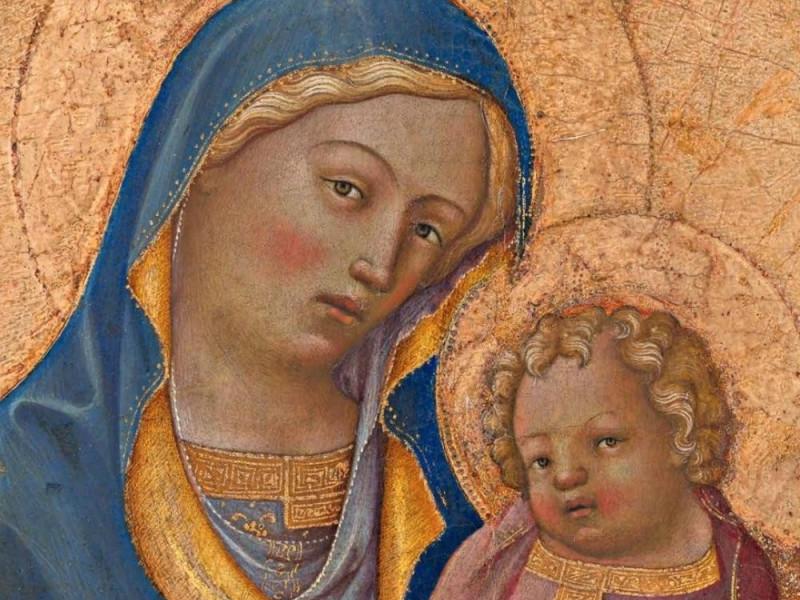 Madonna con Bambino di Lorenzo Monaco (Tavernola di Grizzana Morandi)
