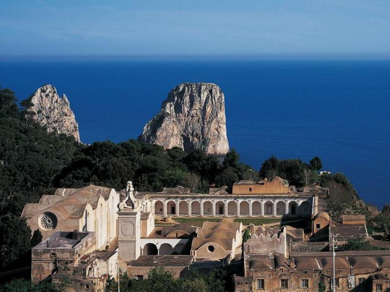 Certosa di San Giacomo,Capri