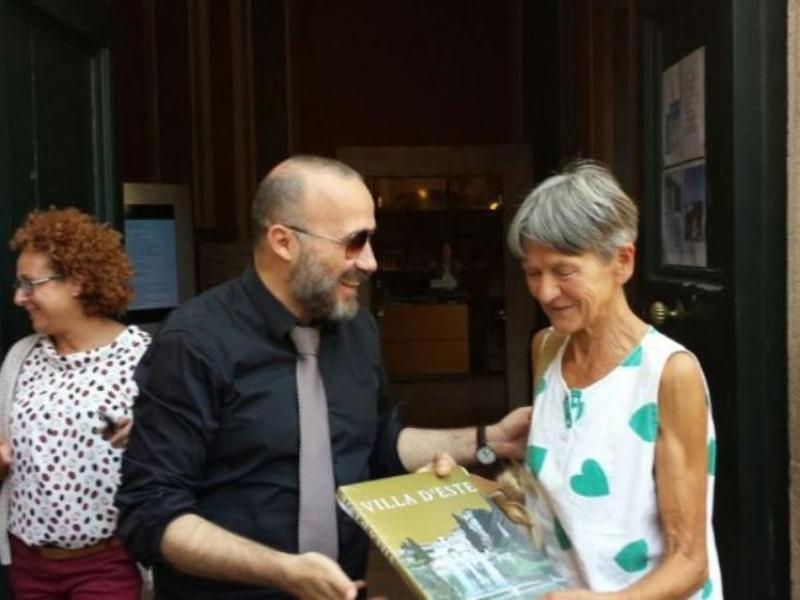 Foto apertura 31 luglio 2017 ore 14.00 Villa d'Este