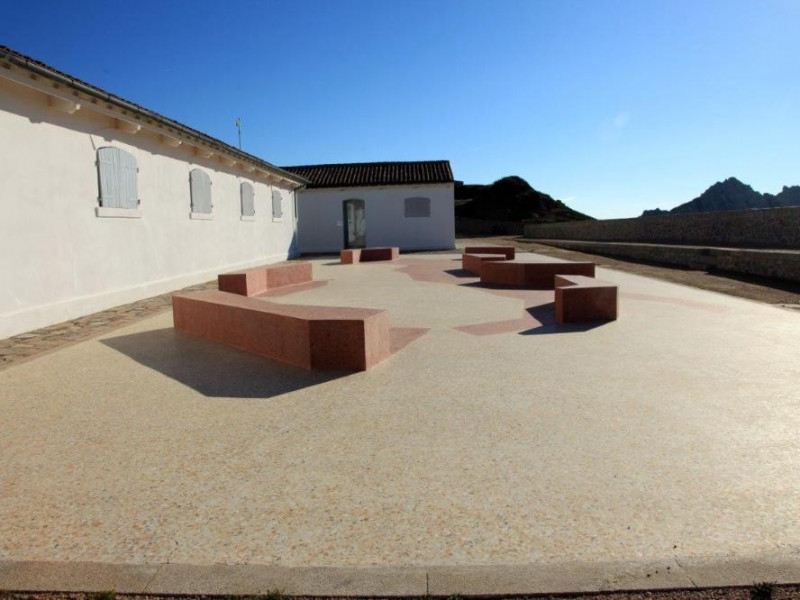 Memoriale G. Garibaldi - sede della mostra a Caprera