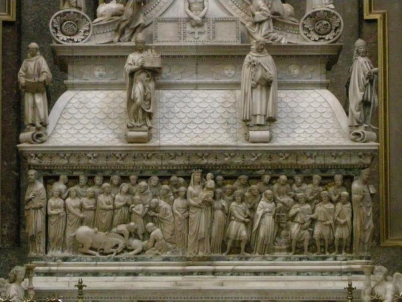 L'arca di San Domenico, opera di Nicola Pisano