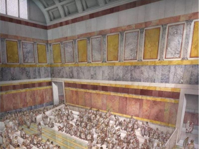 Auditorium Adriano ricostruzione