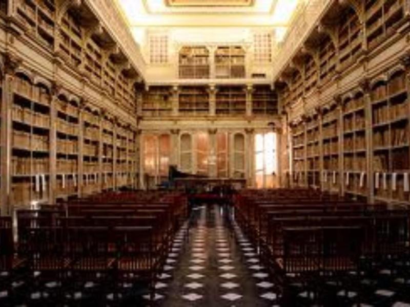 Sala Settecentesca della Biblioteca Universitaria di Cagliari