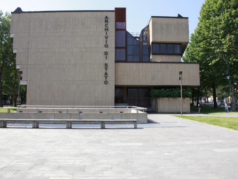 Fronte Archivio di Stato
