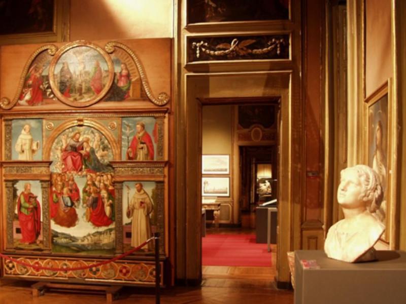Alessandria, Palazzo Cuttica, Sala del â??500 e â??600