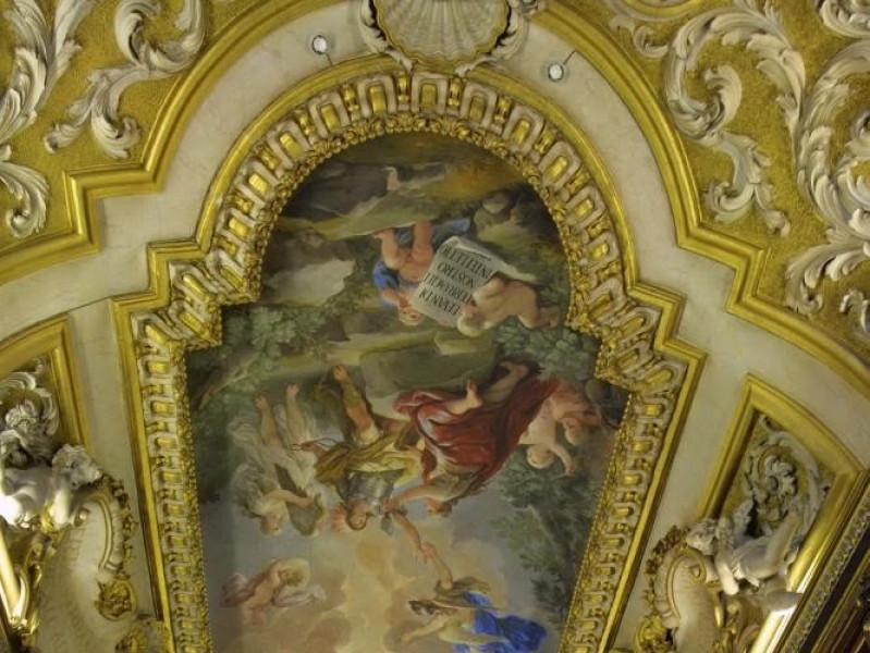 Affresco di Luca Giordano - Sala di lettura