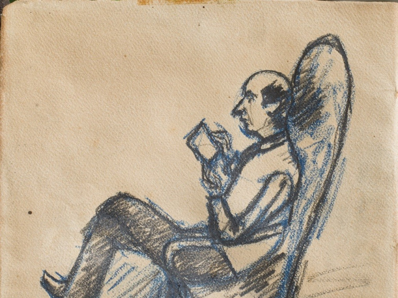 Rosai, Soffici in poltrona, anni '20