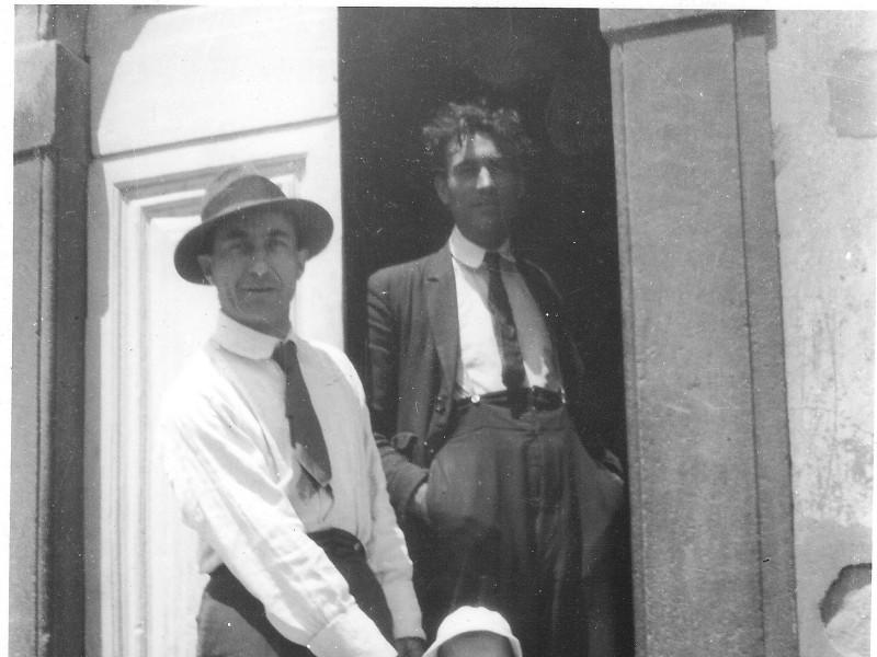 Soffici e Rosai 1922