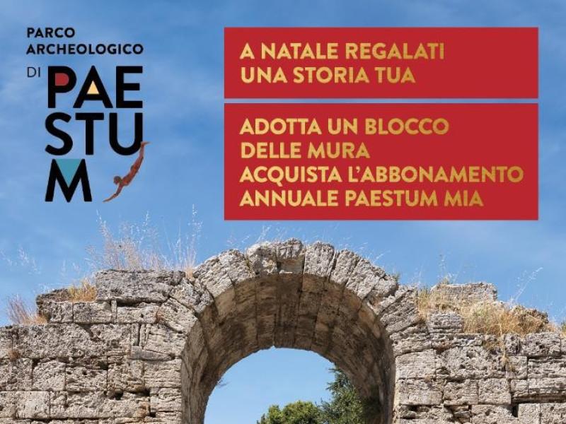 Regala un anno a Paestum!