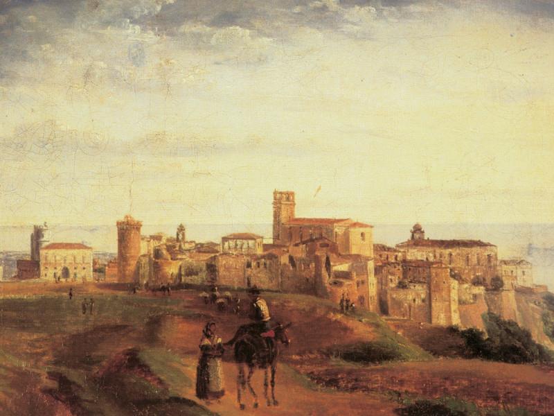 Gabriele Smargiassi,  Veduta di Vasto (1831)
