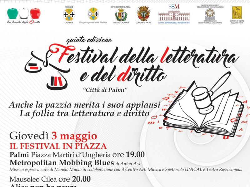 """Festival della Letterature e del Diritto """"Cittò di Palmi"""" (Edizione 2018)"""