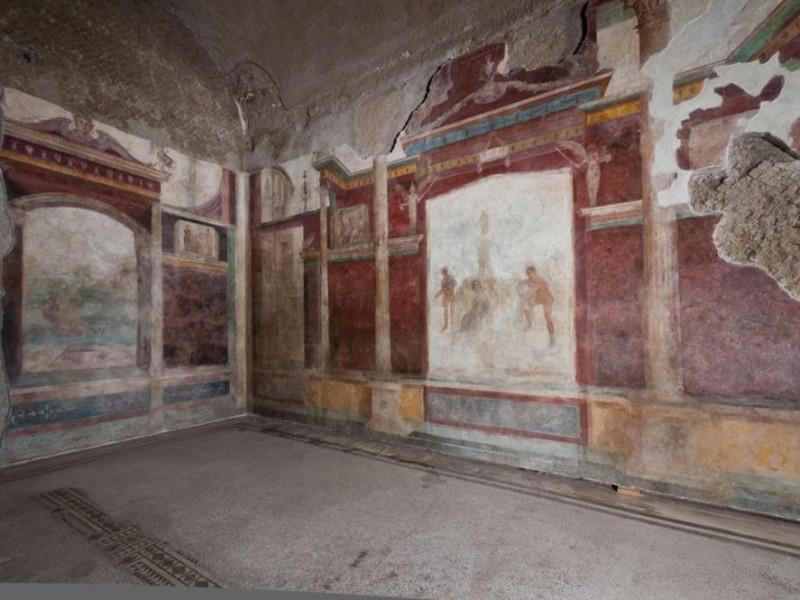 Casa di Livia. Le pitture del tablino
