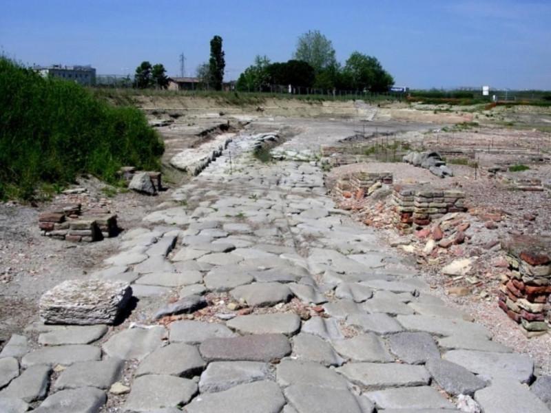 Ravenna, Impianto Portuale Tardo-Romano e Basilica di San Severo (Classe)