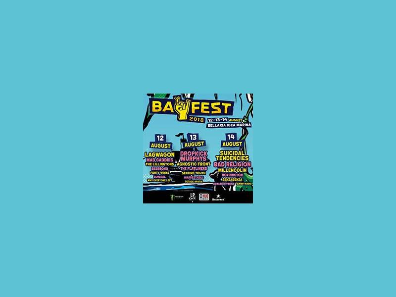 Bay Fest 2018 - Day 1 - Lagwagon + others