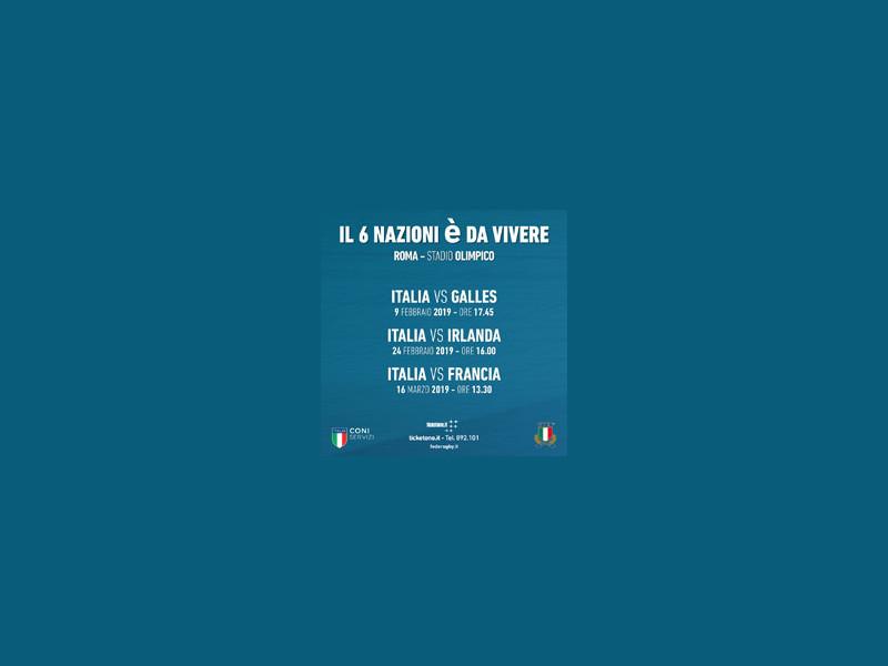 ITALIA VS GALLES - Six Nations Championship 2019