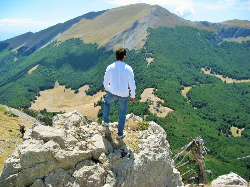 Versante settentrionale del Serra Dolcedorme