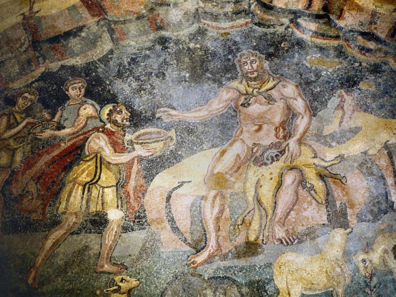 Il vestibolo di Polifemo