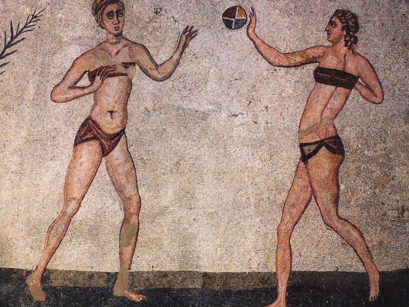 Giocatrici di palla