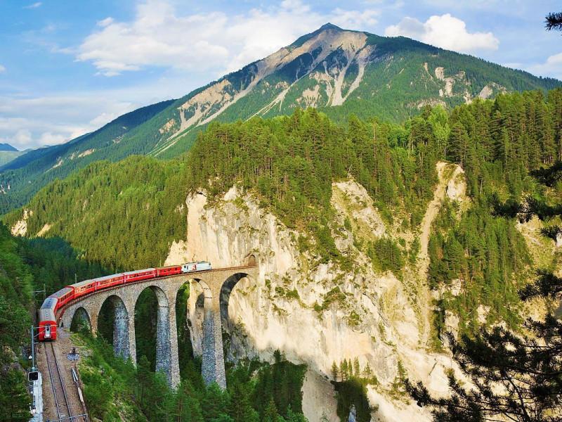 Patrimonio dell'Umanità - Ferrovia Retica