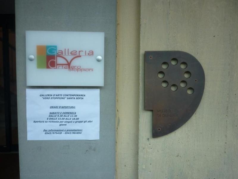 """Santa Sofia, Galleria d'Arte Contemporanea """"V. Stoppioni"""""""