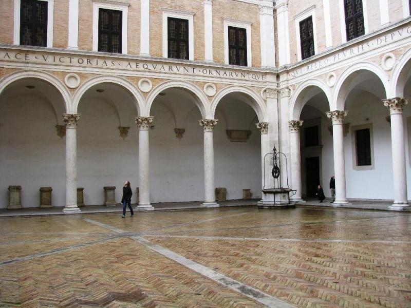 Cortile di Palazzo Ducale di Urbino