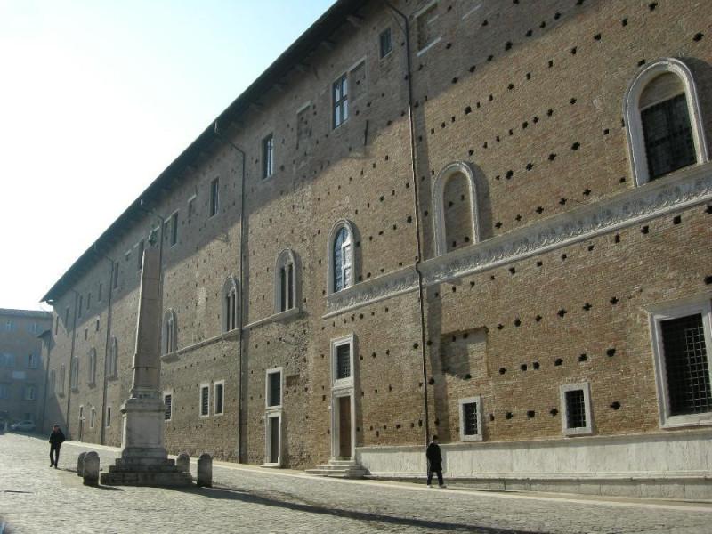 Palazzo ducale di Urbino, esterno