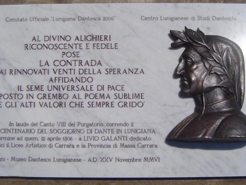 Mulazzo, CASA DI DANTE IN LUNIGIANA