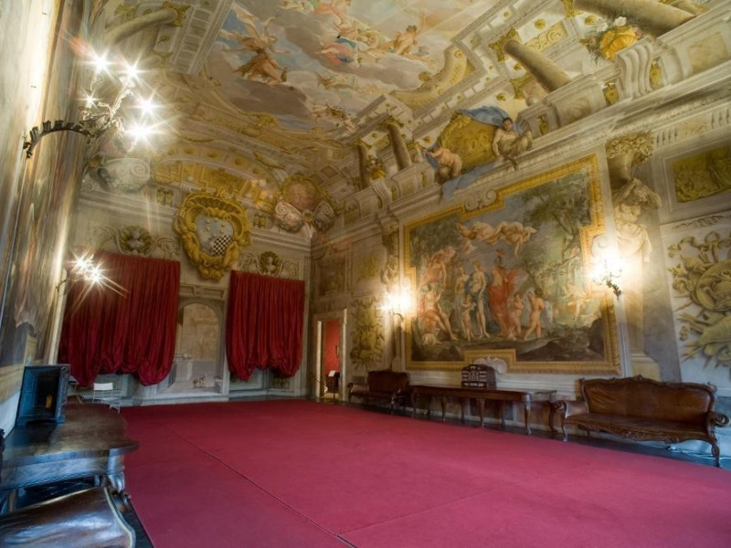 Museo palazzo Mansi, interno