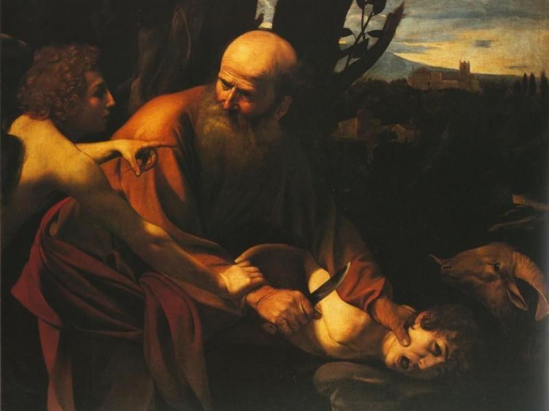 Caravaggio, Sacrificio di Isacco