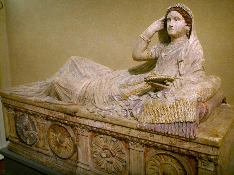 Sarcofago di Letitia Saeianti