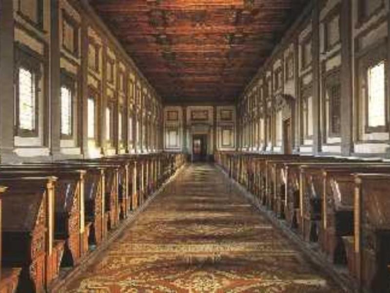 Firenze, BIBLIOTECA MEDICEA LAURENZIANA - AMBIENTI MONUMENTALI