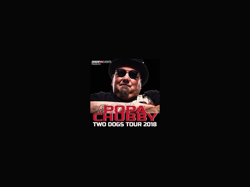 Popa Chubby Two Dogs World Tour 2018
