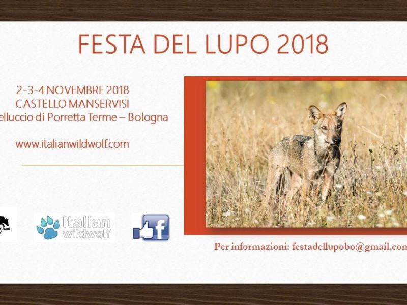 Festa del lupo 2018 - Il ruolo naturale del lupo
