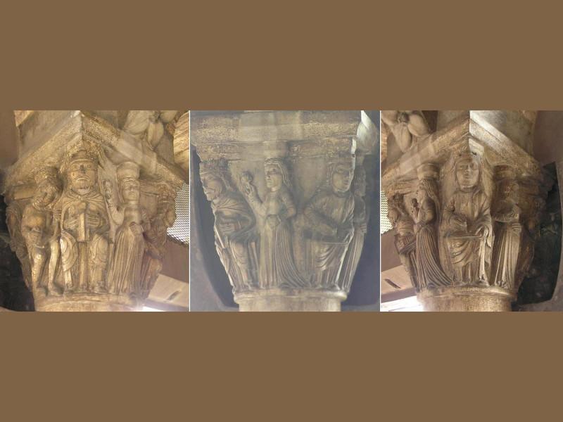 Capitelli Stanza dei Torrisani