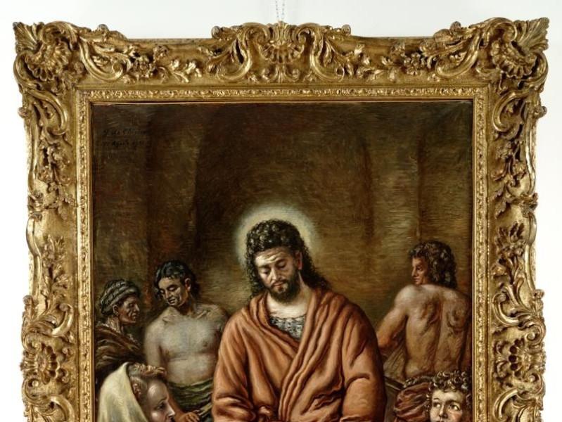 Giorgio De Chirico, Gesù operaio, 1951 Vaccai, Roberto/ Scarpelloni, Mauro