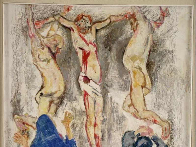 Fausto Pirandello, Crocifissione, 1950-1963 Vaccai, Roberto/ Scarpelloni, Mauro