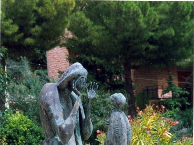 Angelo Biancini, Il figliol prodigo, 1960 Vaccai, Roberto/ Scarpelloni, Mauro; jpg; 958 pixels; 1391 pixels
