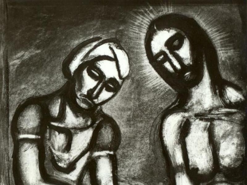 George Rouault, Miserere, 1912-1917 Vaccai, Roberto/ Scarpelloni, Mauro; jpg; 908 pixels; 1190 pixels